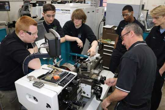 For Male Students, Technical Education In High School Boosts Earnings After Graduation